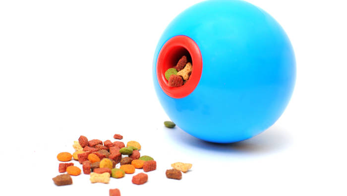 Futterball - damit das Fressen länger dauert