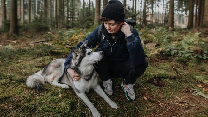 Mit Hund lebt der Mensch gesund
